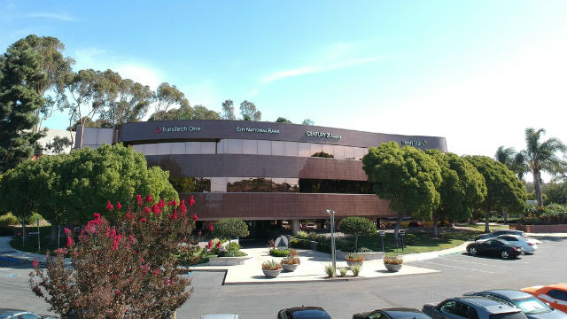 Building where Downtown Works Carlsbad is located