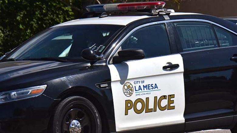 La Mesa Police cruiser