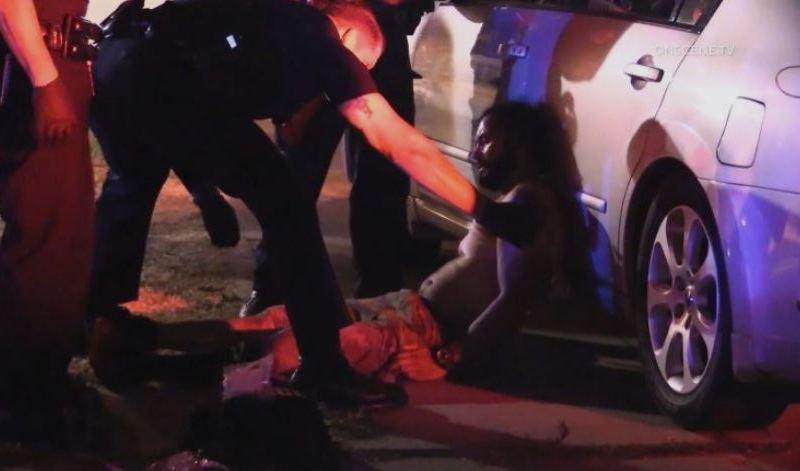 Police assist shooting victim