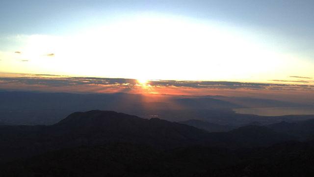 Sunrise from Toro Pak