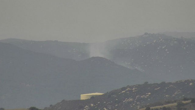 Smoke from Volcano Fire