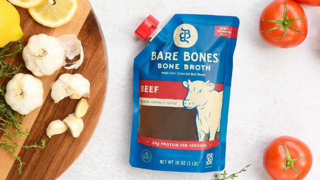 Bare Bones beef broth