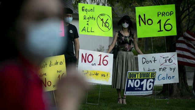Protest against Proposition 16