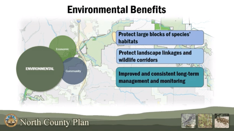Image from North County Multiple Conservation Plan explainer video.