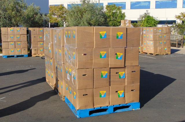 USDA food boxes