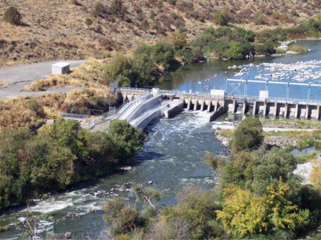 Dam on Klamath River