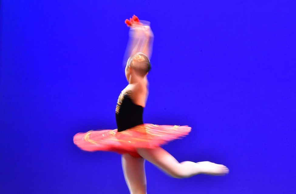About 150 ballerinas aged 9-19 competed in San Diego in semi-final auditions for the Youth America Grand Prix. Dancers from the region performed 2-2 ½-minute pieces in hopes of advancing to the finals in New York City.