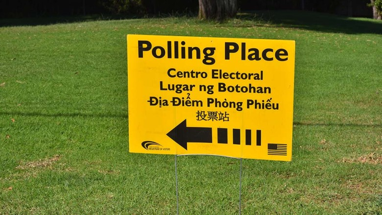 Polling places are open for early voting throughout San Diego County.
