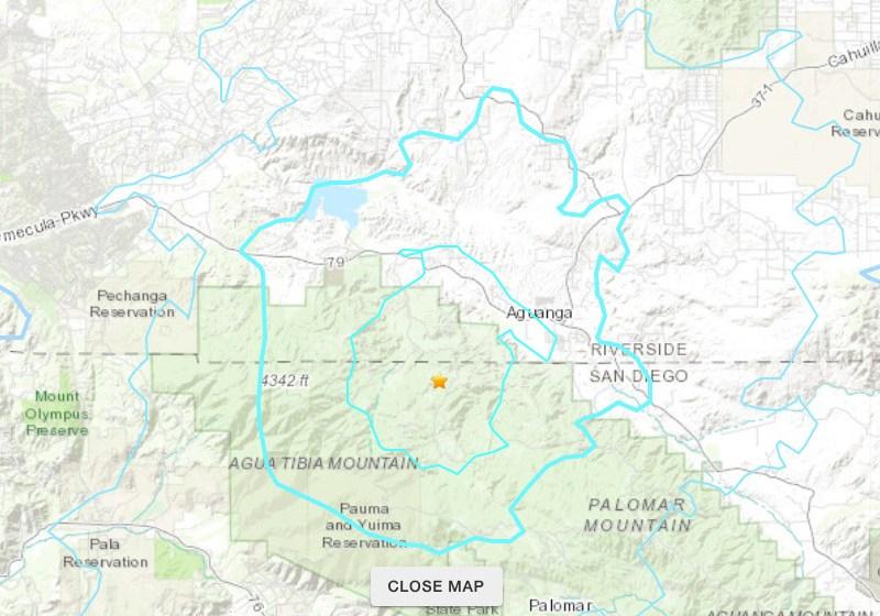 Earthquake U.S. Geological