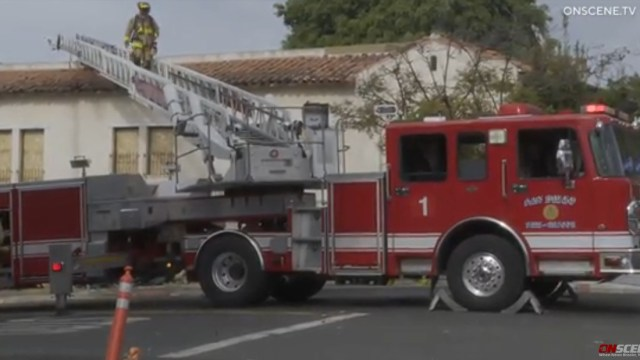 Arson San Diego Fire-Rescue Bankers Hill