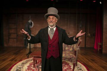 James Newcomb in 'A Christmas Carol'