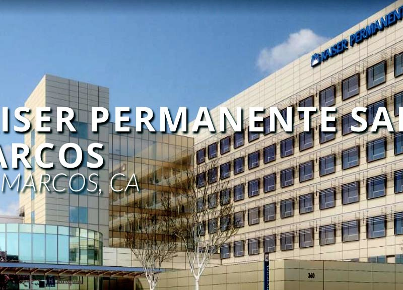 Kaiser Permanente's San Marcos Medical Center will augment an existing hospital.