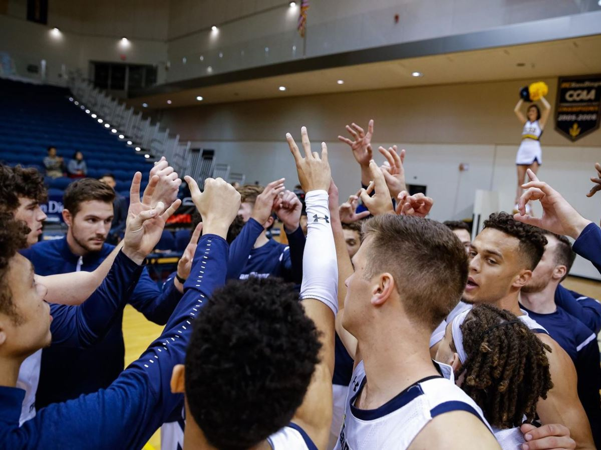 Big West UCSD College basketball