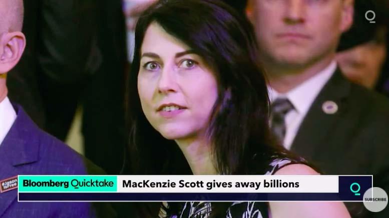MacKenzie Scott, ex-wife of Jeff Bezos, is said to be worth $60 billion, mostly in Amazon stock