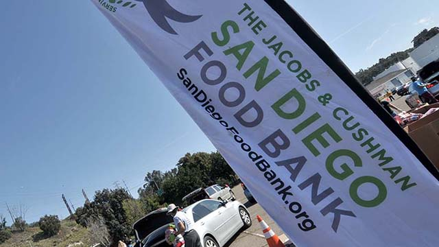 The San Diego Food Bank teamed with Cal Coast Credit Union and local community colleges for latest Pack the Pantry food drive.