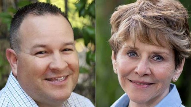 Dustin Trotter and Samm Hurst had one of the closest races in San Diego County.