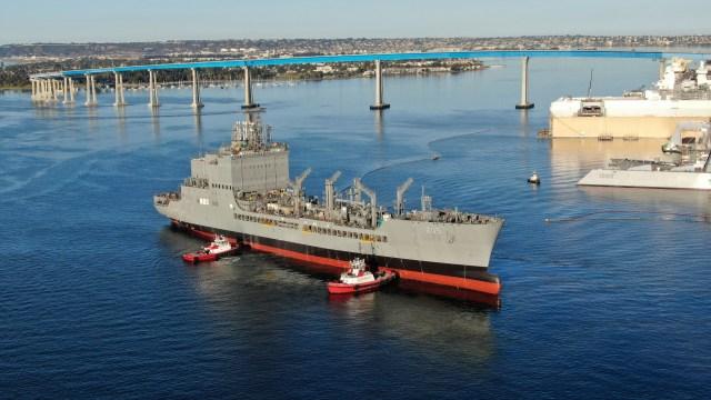 future USNS John Lewis (T-AO 205)