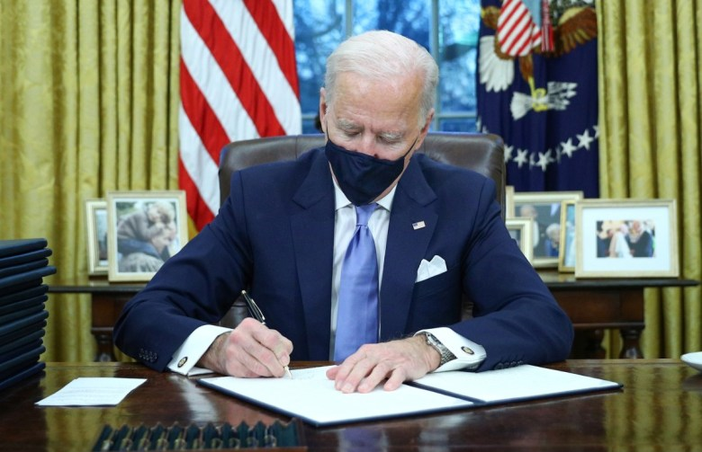 President Biden signs executive orders