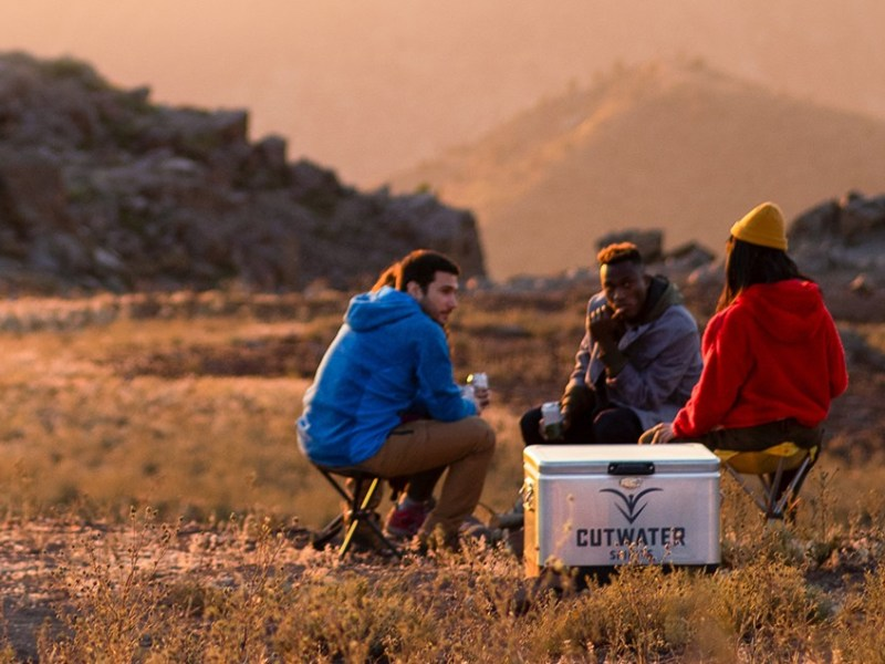 Scene from Cutwater Spirits ad