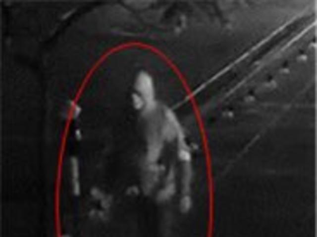 Surveillance image of hate crime suspect