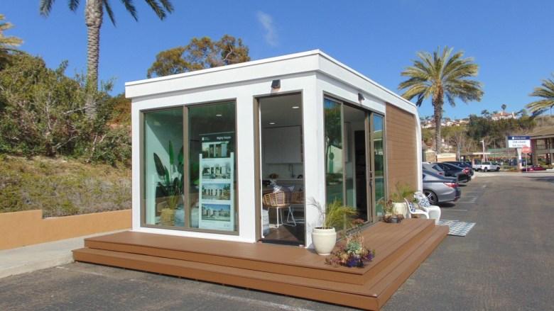 The Mighty Buildings studio model