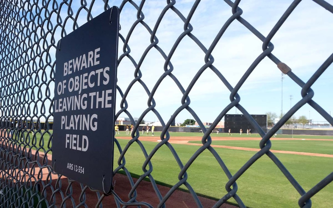 Fans weren't allowed at spring training this year.