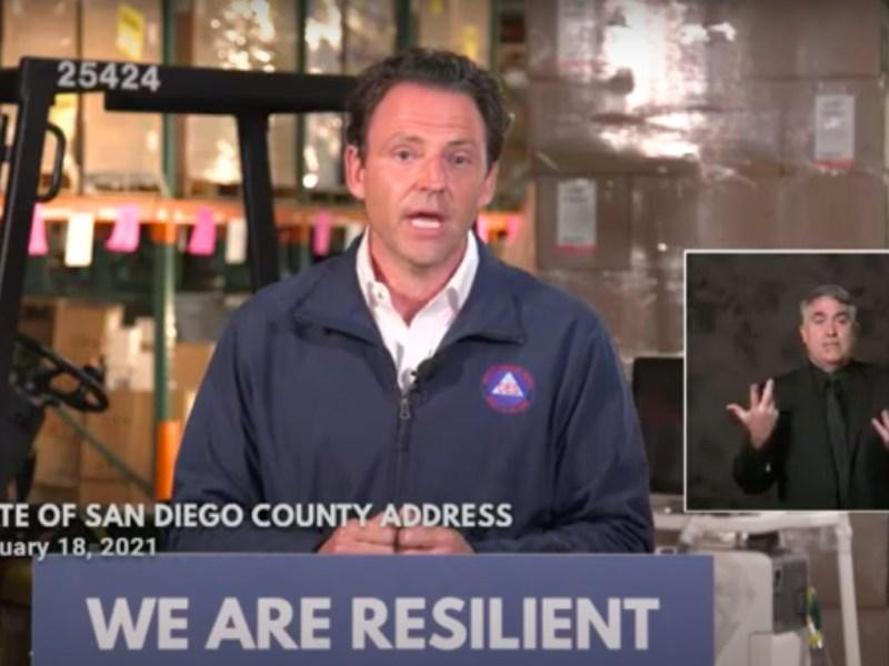 San Diego County coronavirus social programs