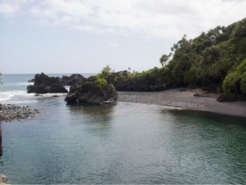 Waioka Pond on Maui