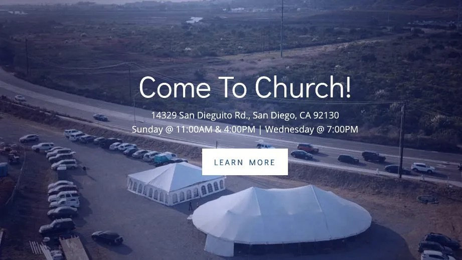 Abiding Place Ministries homepage image.