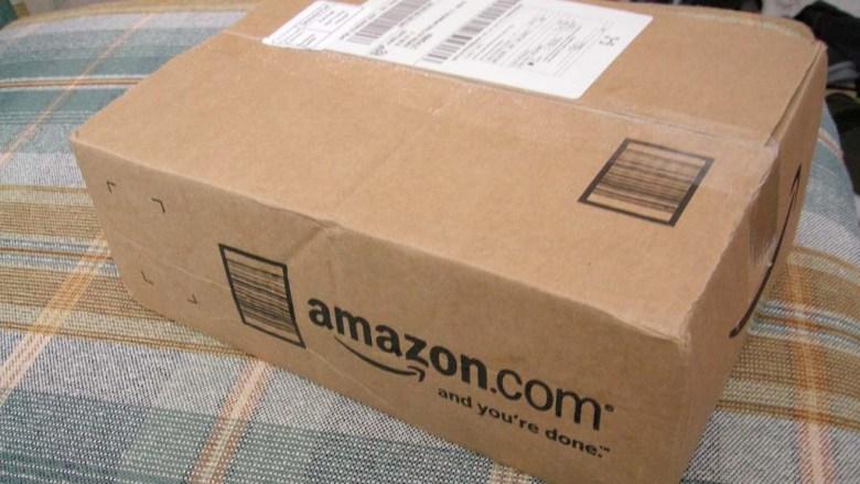 Amazon packaging.