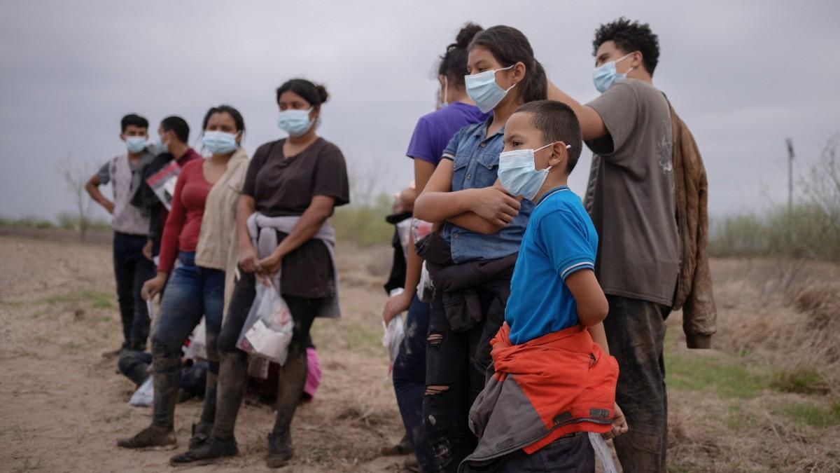 Unaccompanied migrant children in Texas