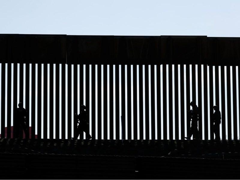 Border Patrol agents in San Ysidro