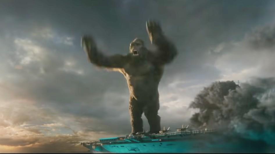"A scene from ""Godzilla vs. Kong"""