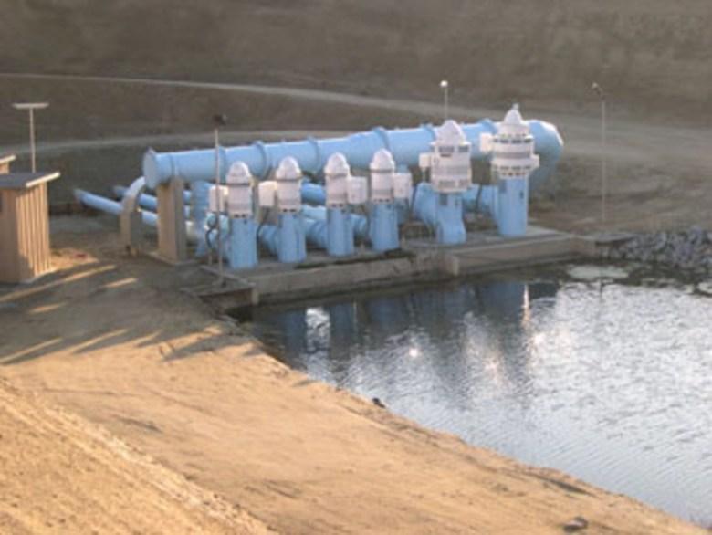 Ground water storage in Kern County