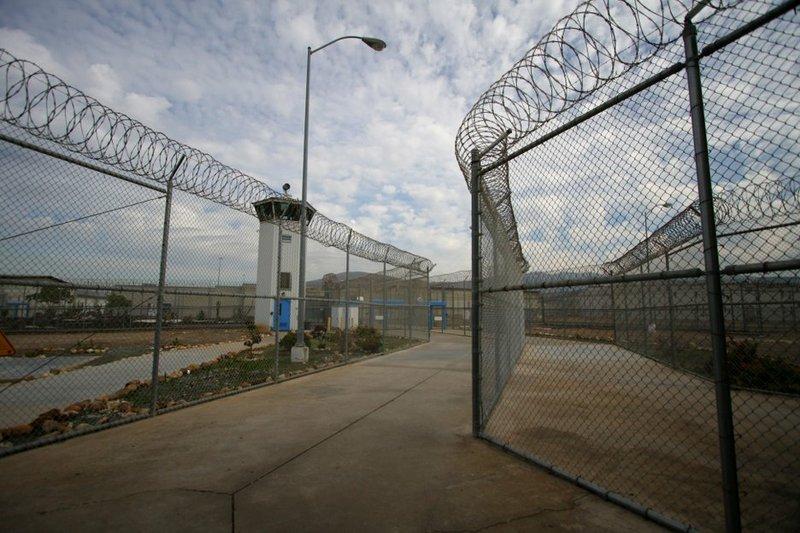 Entrance to Richard J. Donovan Correctional Facility