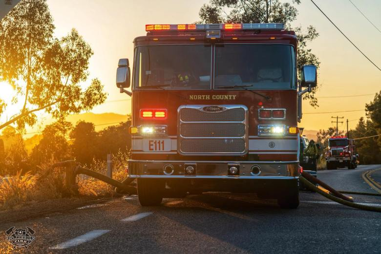 North County brush fires