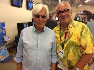 Felix Taverna with Bob Baffert
