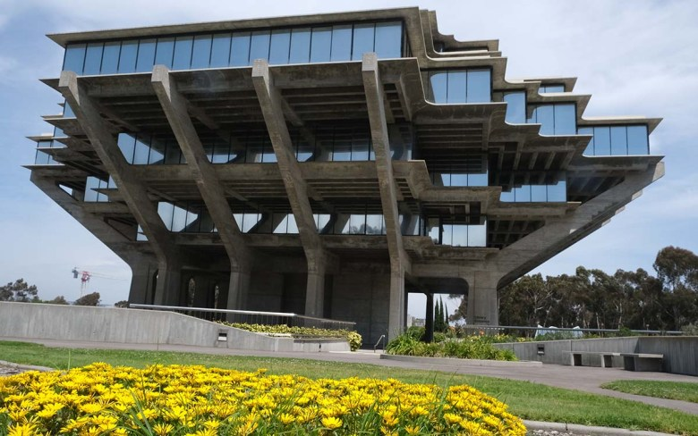 UCSD's Geisel Library. Photo by Chris Stone