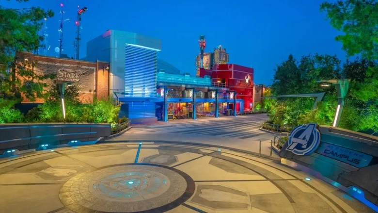 Avengers campus at Disneyland