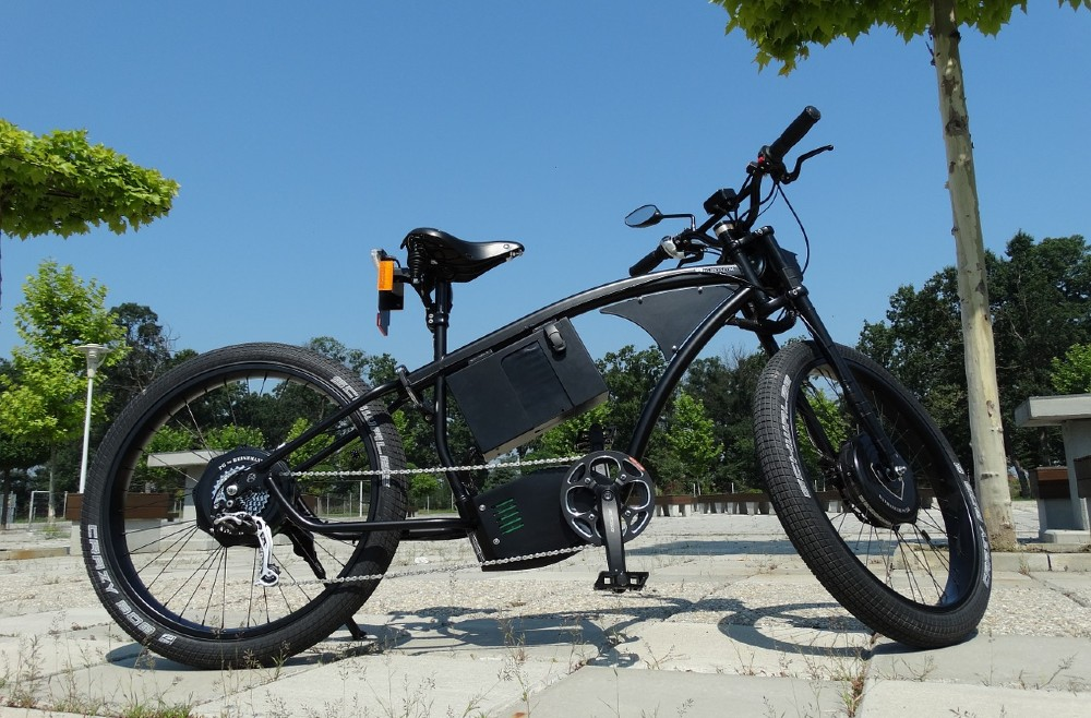 An electric bicycle