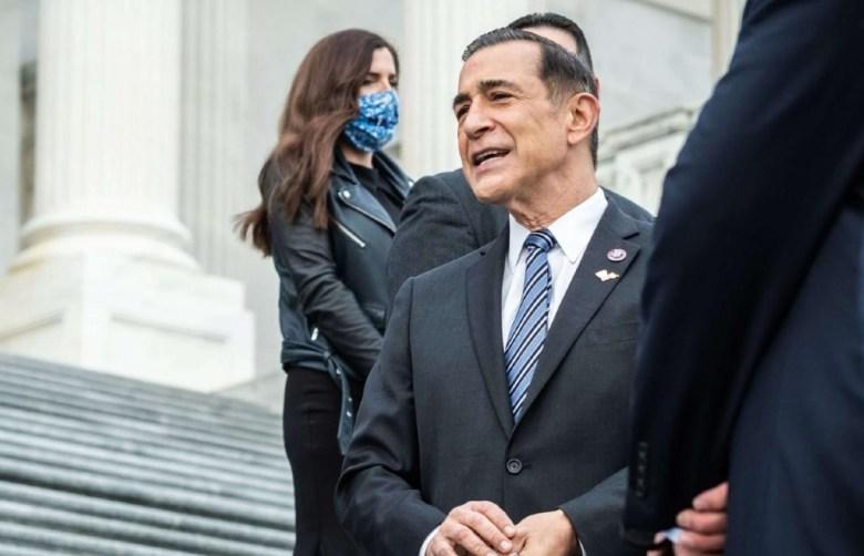 Representative Issa on Capitol Hill