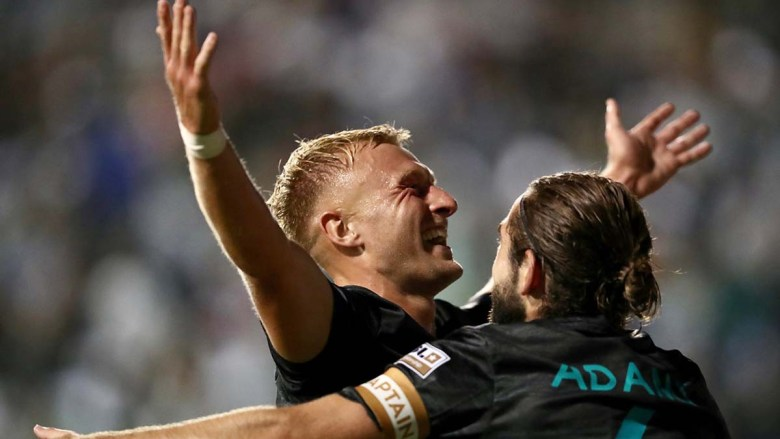 SD Loyal midfielder Jack Blake scored two goals against Phoenix Rising to keep his team unbeaten.