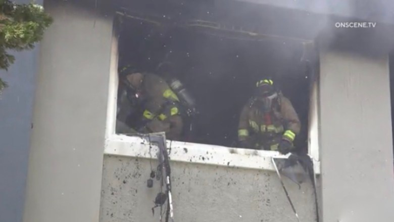 National City Apartment Fire