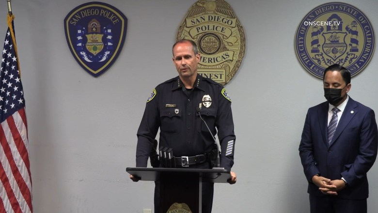 Police press briefing