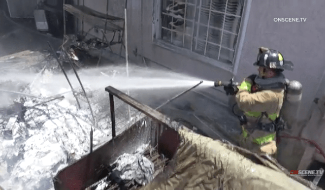 San Ysidro House Fire