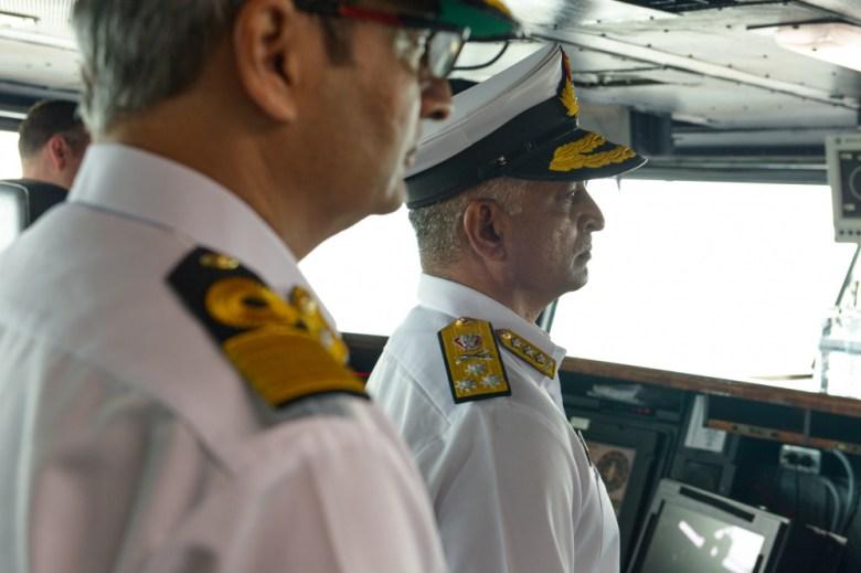 G. Ashok Kumar visits USS Theodore Roosevelt