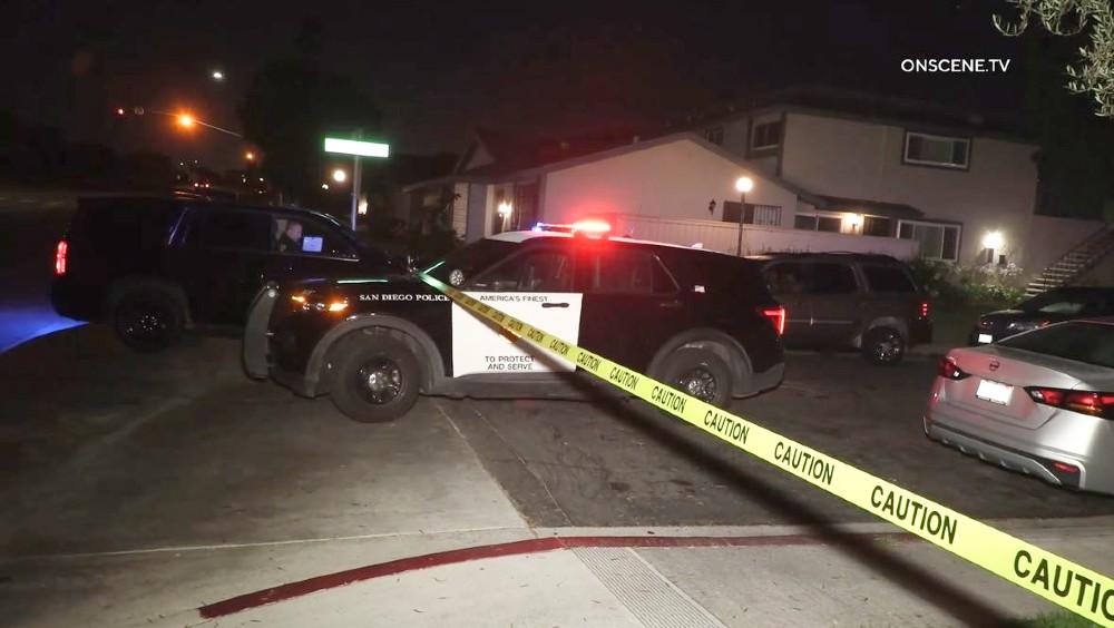 Crime scene in Otay Mesa
