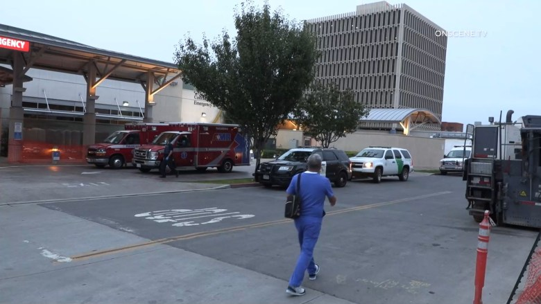 Ambulances at Otay Mesa