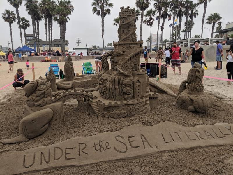 Sun & Sea sandcastles