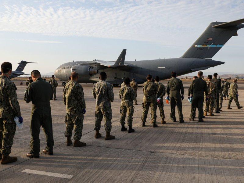 C-17 arrives in Rota, Spain